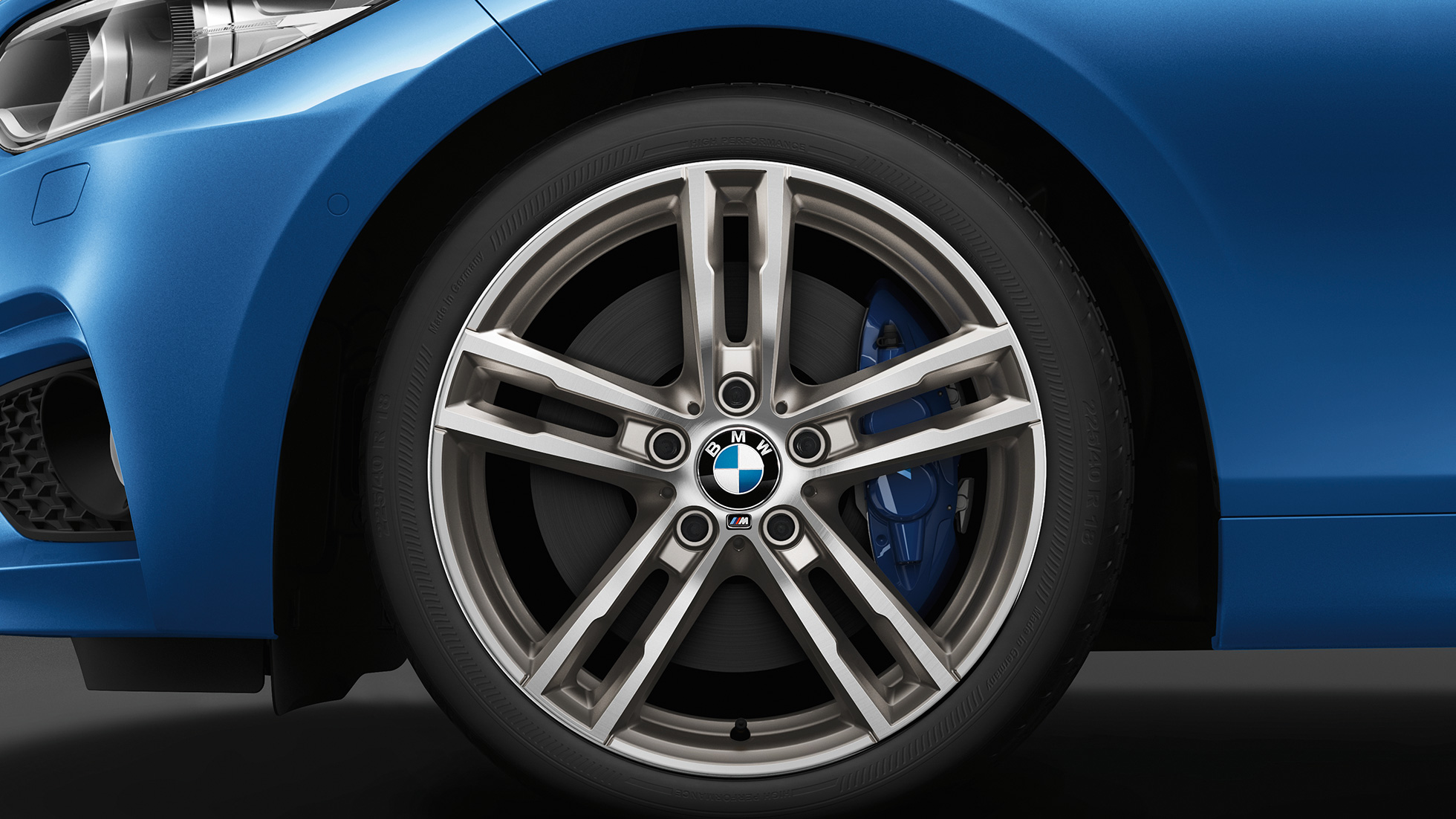 BMW 2 Series Convertible, Model M Sport wheels
