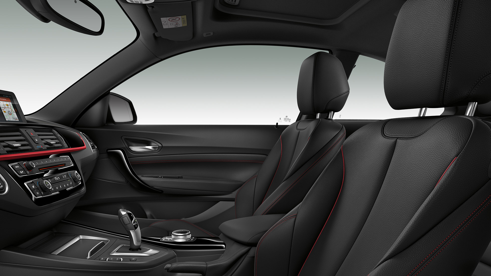 BMW 2 Series Coupé, Model Sport Line interior