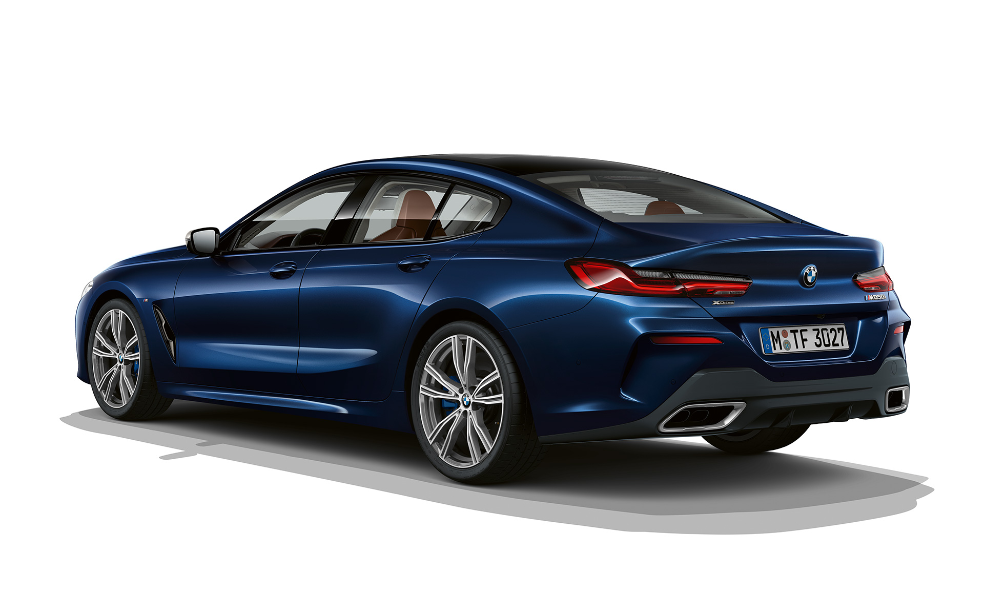 BMW 8 Series Gran Coupé, Individual Sophistication three quarter rear shot