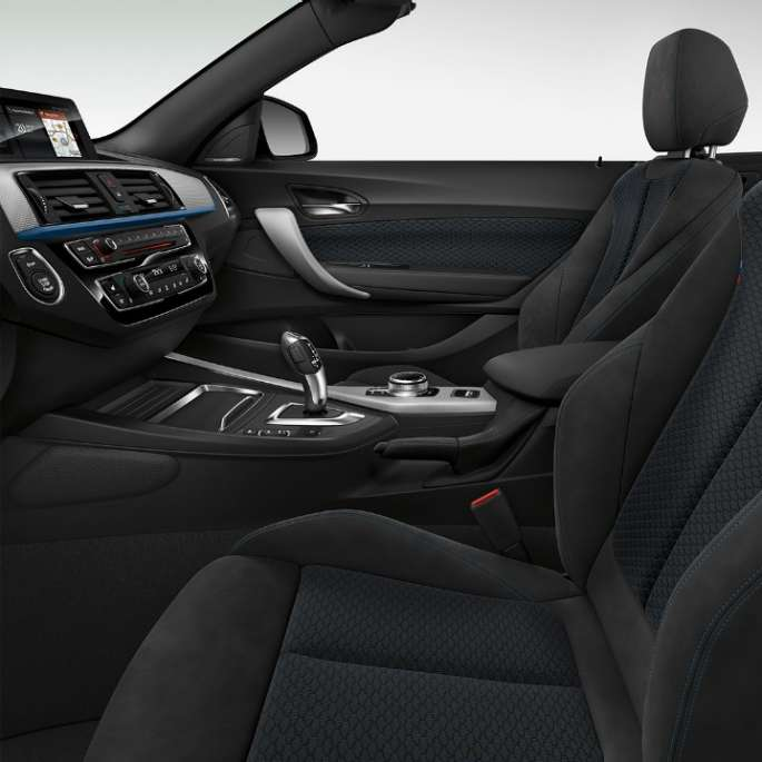 BMW 2 Series Convertible, Model M Sport interior